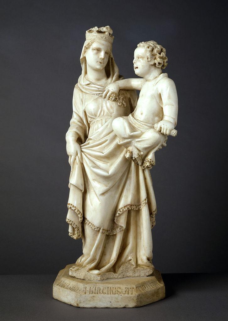 File:Tino di Camaino - madonna and child.jpg - Wikimedia Commons