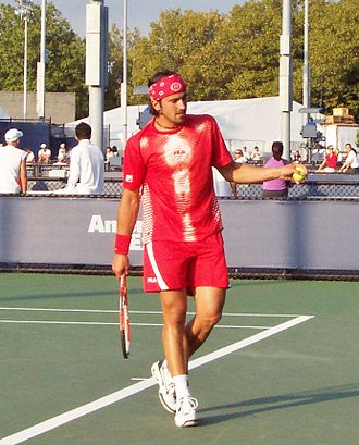 Janko Tipsarević - Tipsarevic at the 2004 US Open