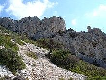 Il Monte Tiscali.