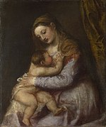 Titian - The Virgin suckling the Infant Christ - Google Art Project.jpg