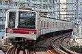 Tobu 28810 at Minami-Senju Sta 2016-10-07.jpg