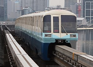 Tokyo Monorail 1000 series - Image: Tokyo monorail 1000 1024