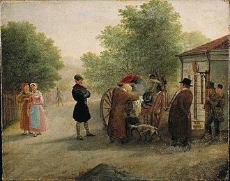 Johannes Flintoe - Image: Tollvisitasjon ved Klingenberg Flintoe OB.01046