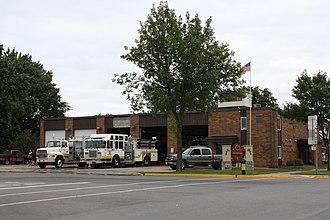 Tomahawk, Wisconsin - Image: Tomahawk Wisconsin Fire Station