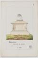 Tombeaux de personnages marquants enterrés dans les cimetières de Paris - 005 - Bazaine.png