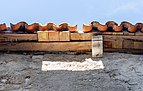 Top of the roof of an old building, Plomin, Istria County, Croatia.jpg