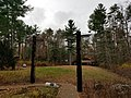 Totem Poles at Nobscot Boy Scout Reservation in Framingham and Sudbury Massachusetts MA USA.jpg