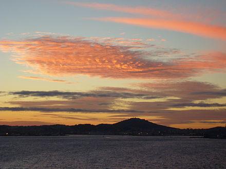 The Harbour at Sunset Toulon Rade Sunset.jpg