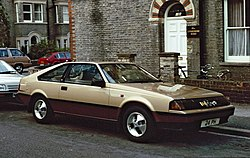 1983 Toyota Celica Liftback 2.0 XT (RA61) (UK)