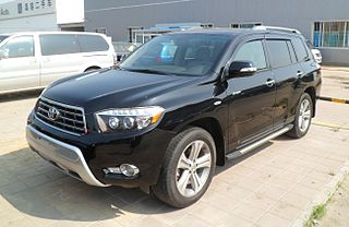 Toyota Highlander XU40 China 2012-08-09