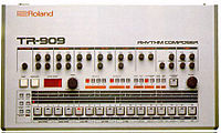 TR-909 Front Panel