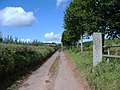 Track, to Marshall Farm - geograph.org.uk - 1458020.jpg