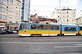 Tram in Sofia mear Macedonia place 2012 PD 018.jpg