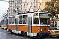 Tram in Sofia near Macedonia place 2012 PD 064.jpg