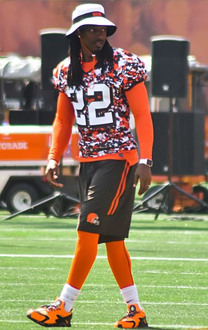 Tramon Williams - Williams with the Browns in 2015
