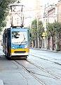 Tramway in Sofia in Alabin Street 2012 PD 013.jpg
