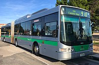 Transperth Volgren CR228L bodied Scania L94UA CNG articulated bus 01.jpg