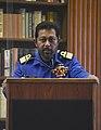 Travis Sinniah, Naval War College Lecture.jpg