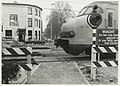 Treinverkeer bij de spoorwegovergang aan dfe Westergracht. NL-HlmNHA 54016618.JPG