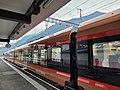 Treno Gottardo stopping at Altdorf UR, Switzerland.jpg