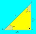 Triângulo Retângulo em Função de L.png