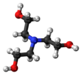Triethanolamine 3D ball.png