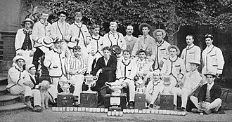 Trinity Hall Boat Club - 1887 Trinity Hall Henley boat