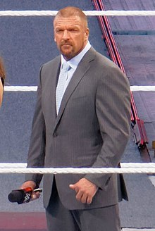 Triple H At WrestleMania 31 in 2015.jpg