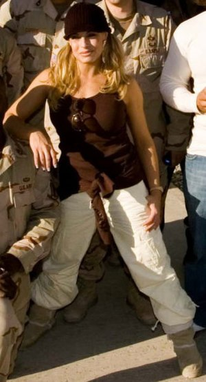 Trish Stratus in Afghanistan, 2005