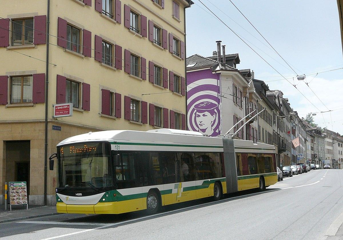Trolleybuses In Neuch U00e2tel