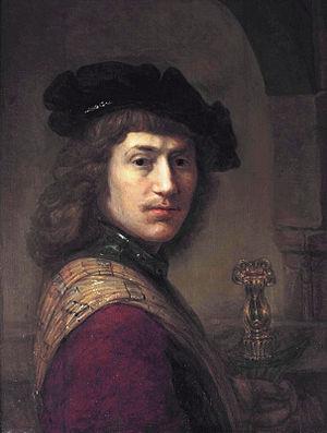 Leendert van Beijeren - Self-portrait