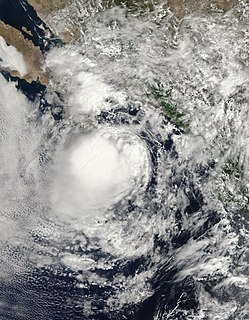 Tropical Storm Georgette (2010) Pacific tropical storm in 2010