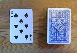 Mao (card game) - Image: Trumf bunke