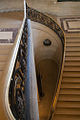 Trying to capture the curves along a Louvre staircase (8423469621).jpg