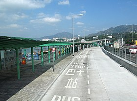 Tuen Mun Road Interchange Tuen Mun Direction 201309.jpg