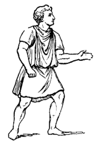 Tunic - Roman worker dressed in a tunic