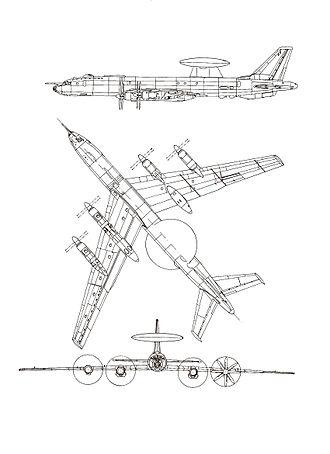 Tupolev Tu-126 - Image: Tupolev Tu 126 0012