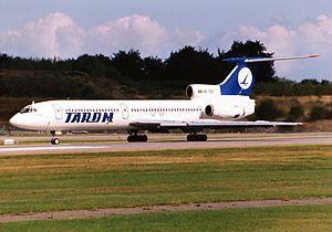 Tupolev Tu-154 - TAROM Tu-154B-1