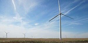 Williams, Iowa - Turbines near Williams