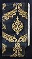 Turchia ottomana, tessuto a maglie (kemha), in lampasso lanciato, seta e oro filato, 1500-50 ca.jpg