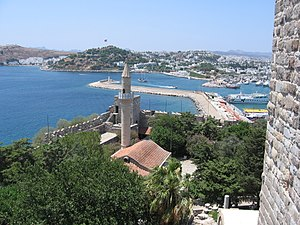 Turkey Bodrum Castle Mosque
