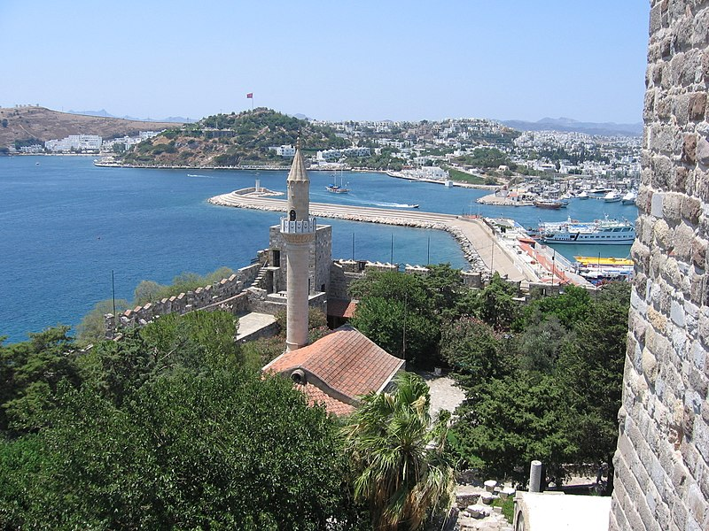 File:Turkey Bodrum Castle Mosque.jpg