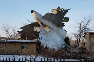Turkish Airlines Flight 6491 2017 Cargo airliner crash in Kyrgyzstan