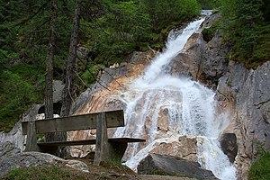 Tuxertal - Image: Tuxerbach Austria 2007 05 26
