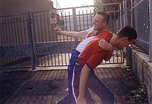 English: a typical scene of Street Fight