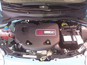 MultiAir - Fiat 875 cc two cylinder TwinAir engine featuring Multiair technology