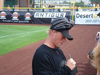 Tyler Walker (baseball) - Tyler Walker in 2006.