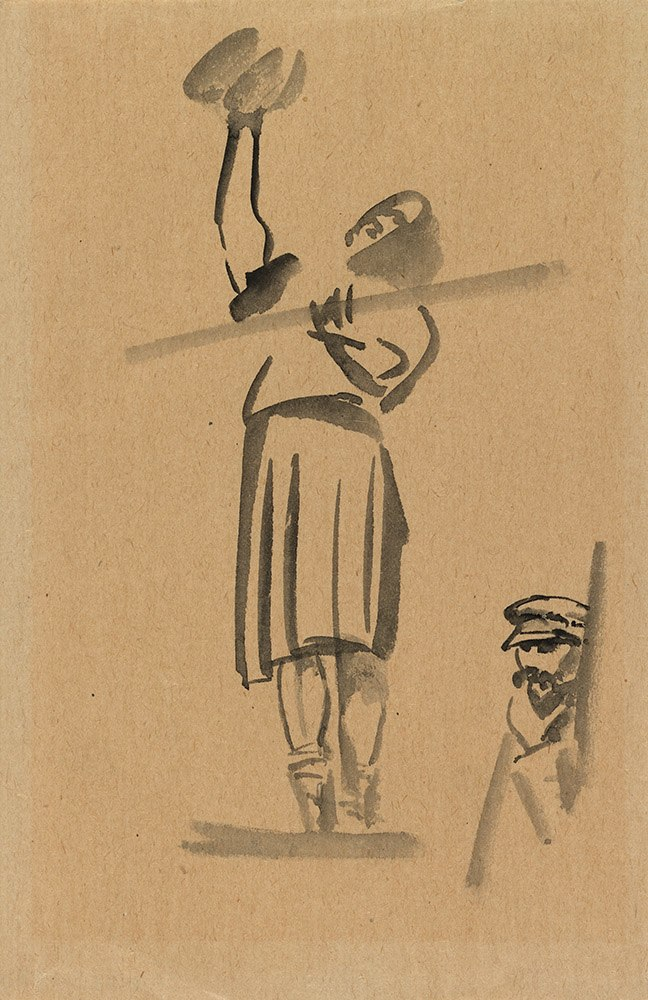 Tyrsa Window Cleaner and Portrait of V. Tatlin