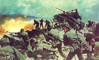 23rd Infantry Regiment (United States) - U.S. Army In Action DA Poster 21-47 Breakthrough at Chipyong-Ni