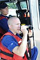 U.S. Coast Guard Petty Officer 3rd Class Colby L. Heywood, bottom, and Petty Officer 2nd Class Gabe H. Fragodt, both boat crew members with U.S. Coast Guard (USCG) Station Gloucester, Mass., count swimmers still 130817-G-TM693-002.jpg